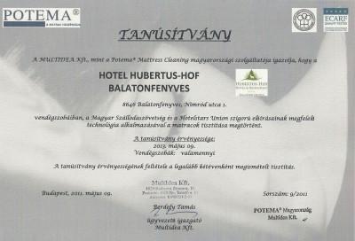 Minőségi, kényelmes szállás a Hubertus-Hof Szállodában Balatonfenyvesen